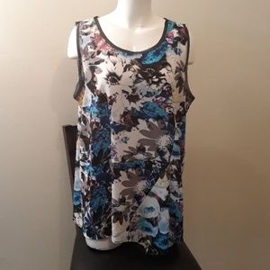 Vera Wang New Without Tags Floral Top XL